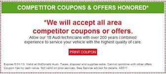 audi repair denver denver audi repair discount competitor coupons and offers honored
