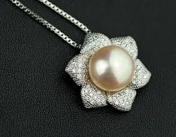 pearl setting necklace images Pearl jewelry jewelsome jpg