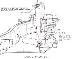 jeep jk suspension diagram official way to determine your suspension lift jk forum com the