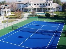 backyard tennis court dimensions a tennis court has a total of 7
