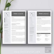 resume cover letters 2 modern resume template cover letter 1 2 3 page template 2 page