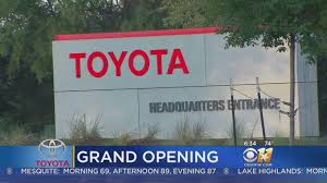 headquater toyota grand opening at new toyota headquarters in plano youtube