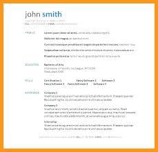 resume template word doc resume template word download free resume