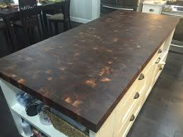 amazing end grain butcher block countertops photos home i built a end grain butcher block style island slab album on imgur