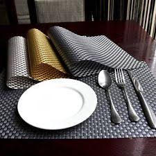 Table Place Mats Woven Placemats Ebay