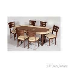 dining room poker table oval poker tables u2013 vip poker tables