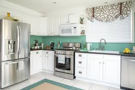 cost for kitchen cabinets low cost kitchen makeover in a coastal style diy