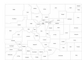Colorado County Maps by Colorado County Map With County Names Free Download