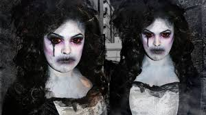 infected gothic glamour makeup tutorial youtube