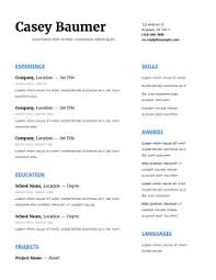 Programmer Resume Template Choosing Perfect Programmer Resume Template In 2016 2017
