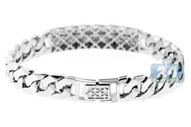 bracelet white gold images Brilliant ideas white gold bracelets for men 18k 1 97 ct diamond jpg