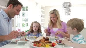 Kids Eating Table Four Adorable Kids Eating Spaghetti At Home Having Fun Stock
