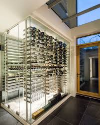 Home Wine Cellar Design Uk by Modern Cable Wine System Wine Cellar By Papro Consulting 37b