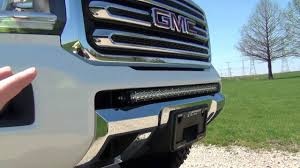 Cheapest Led Light Bars by Led Lightbar On Lifted Gmc Canyon Everest Lifted Trucks Youtube