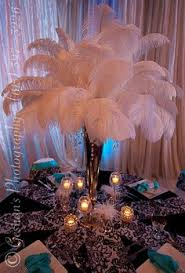 Wedding Feathers Centerpieces by Wonderful Ideas For Decorating Your Wedding Personalized Party