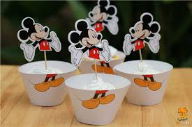 mickey mouse baby shower decorations mickey mouse cupcake supplies mickey mouse birthday mickey mouse