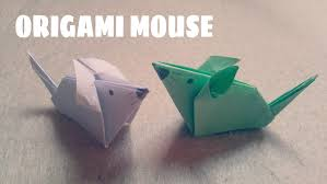 origami for kids origami mouse origami animals youtube