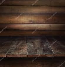 Wooden Table Old Wooden Table With Wooden Background U2014 Stock Photo Sandralise