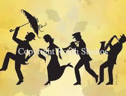 second line umbrellas louisiana greeting cards cajun greeting