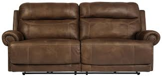 Two Seater Electric Recliner Sofa Signature Design By Cayman Brown 3840081 2 Seat Reclining