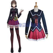 Chica Halloween Costume Aliexpress Comprar Anime Yukizome Kukuri Cosplay Chica