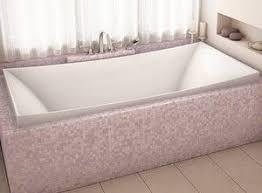 alcove lilium drop in bathtub air or soaking tub