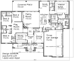 1 Floor Home Plans Texas Hill Country With A Touch Of Tuscan 1 Story Home Plan I