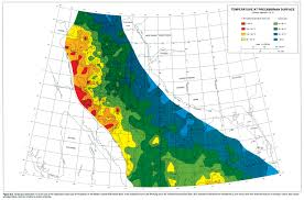 Map Of Edmonton Canada by Chapter 30 Geothermal Regime
