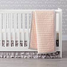 Pink And Gold Baby Bedding Crib Bedding The Land Of Nod