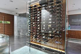 room wine room chillers decorating ideas contemporary simple