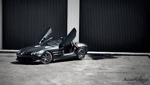 Slr 722 Interior Garage Works Provide Mysterious Look To Mercedes Benz Mclaren Slr
