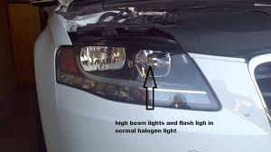 audi a4 headlight bulb audi a4 b8 geniune bi xenon headlights with led as drl audi led store