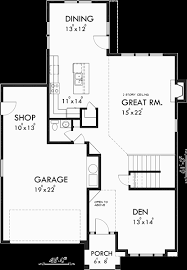 narrow house floor plans portland house plans narrow house plans 3 bedroom house plans