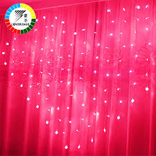 Red Heart Fairy Lights by Aliexpress Com Buy Coversage Heart Fairy String Lights Curtain