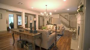 Kitchen Living Room Fixer Upper Video An Open And Updated Living Room Hgtv Ca