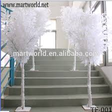 table centerpiece artificial tree white wedding centerpieces tree