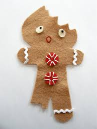 elsie marley archive pattern for a half eaten gingerbread