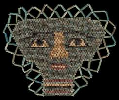 bead masks ancient resource ancient mummy masks for sale
