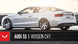 20 audi rims audi s5 on 20 vossen vvs cv7 concave wheels rims
