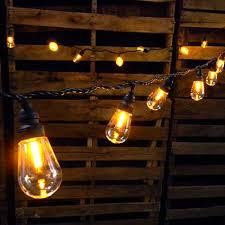 led edison string lights commercial led edison string lights 25 amber globes black wire