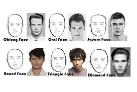 best haircut for narrow face best mens haircuts for each face shape