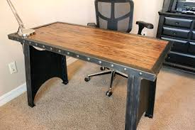 Vintage Home Office Desk Industrial Desk Office Style Office Desk Home Office Desk