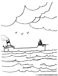 freighter ship coloring sheet create a printout or activity