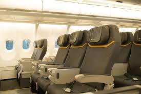 Most Comfortable Airlines Going Premium On Thomas Cook Airlines With Meals From A Celebrity Chef