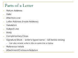 letter with attention line and subject line mail merging businesses and organizations often want to send