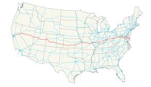 50 States Map With Capitals by U S Route 50 Wikipedia