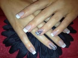 zebra nails pin acrylic nail designs cheetah print nails zebra
