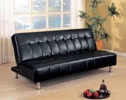 Leather Futon Sofa Choosing Leather Futon Sofa Luxurious Furniture Ideas