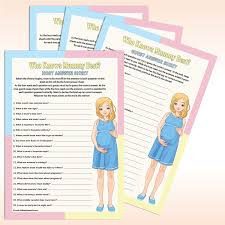 baby shower game who knows mum best 20 guests amazon co uk baby