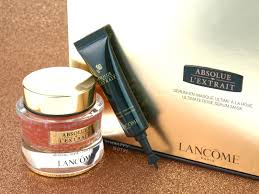 lancome absolue l u0027extrait ultimate rose serum mask review the